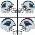 Carolina Panthers Helmet Logo 1995-Present DIY iron on transfers