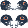 Chicago Bears Helmet Logo 1983-Present DIY iron on transfers
