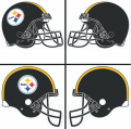 Pittsburgh Steelers Helmet Logo 1977-Present DIY iron on transfers