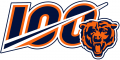 Chicago Bears 2019 Anniversary Logo iron on transfer