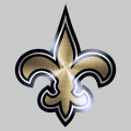 New Orleans Saints Stainless steel logo iron on transfer