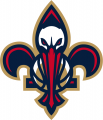 New Orleans Pelicans 2013-14-Pres Secondary Logo 02 decal sticker