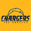 Los Angeles Chargers 2017 Alt on Dark Logo 02 decal sticker