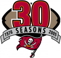 Tampa Bay Buccaneers 2005 Anniversary Logo decal sticker