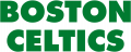 Boston Celtics 1977-Pres Wordmark Logo iron on transfer