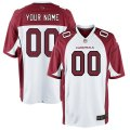 Arizona Cardinals Custom Letter and Number Kits For White Jersey