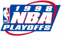 NBA Playoffs 1997-1998 decal sticker