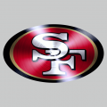 San Francisco 49ers Stainless steel logo iron on transfer