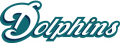 Miami Dolphins 1997-2012 Wordmark Logo 01 iron on transfer